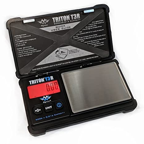 Triton T3R - Báscula recargable (500 g x 0,01 g)