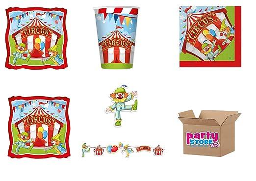 Circus Party - Juego de Papel de Mesa para Fiesta temática Circa ...