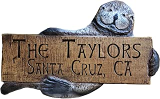 product image for Piazza Pisano Otter Personalized Home and Address Sign