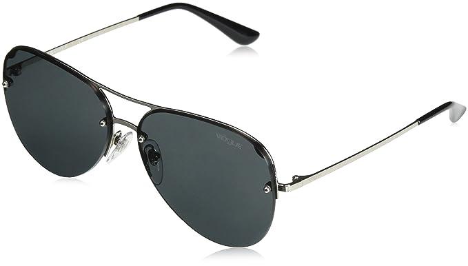 Vogue 0VO4080S, Gafas de Sol para Mujer, Silver, 58: Amazon ...