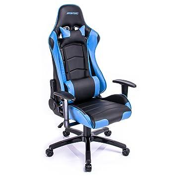 Racing Silla de Escritorio, Silla de Escritorio de Oficina, Asientos de Juego Gaming Silla, Racing Gaming Chair: Amazon.es: Hogar