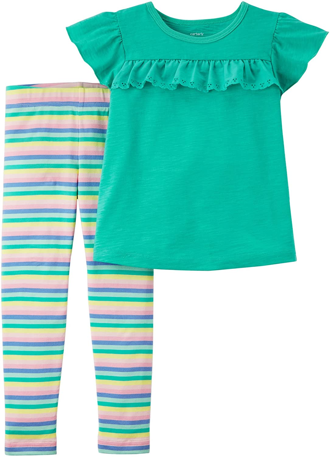 Carter's Girls' 2 Pc Playwear Sets 259g335 Carters