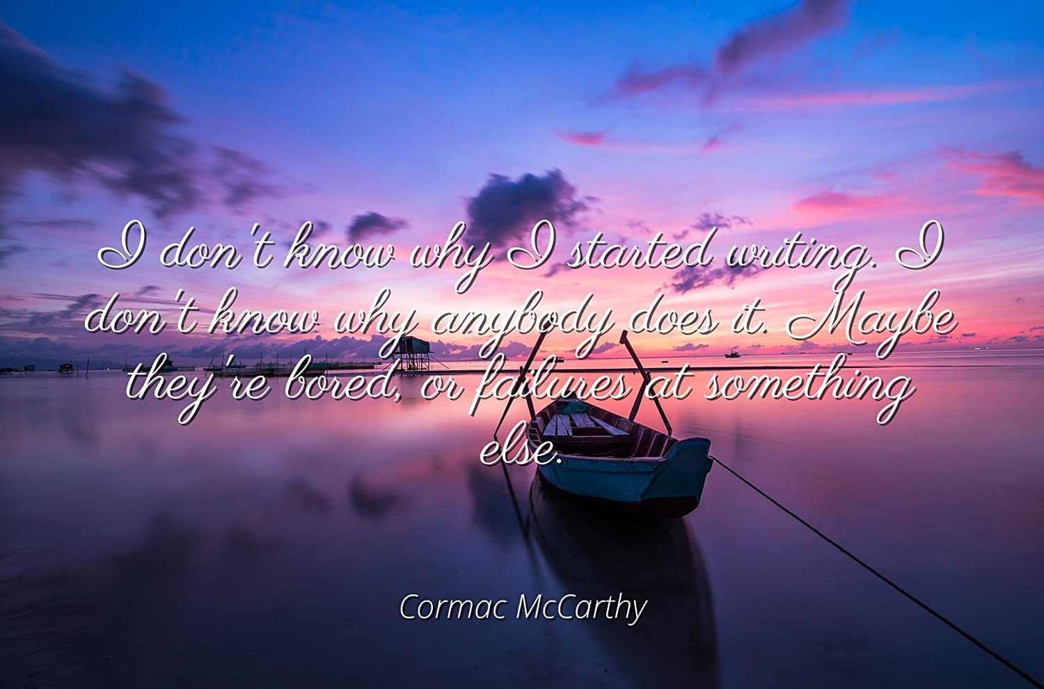 Cormac Mccarthy Quotes 2