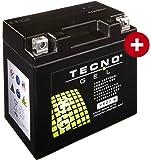 GEL Batterie YTZ7S KTM Duke 125 ABS 2013-2016 von TECNO