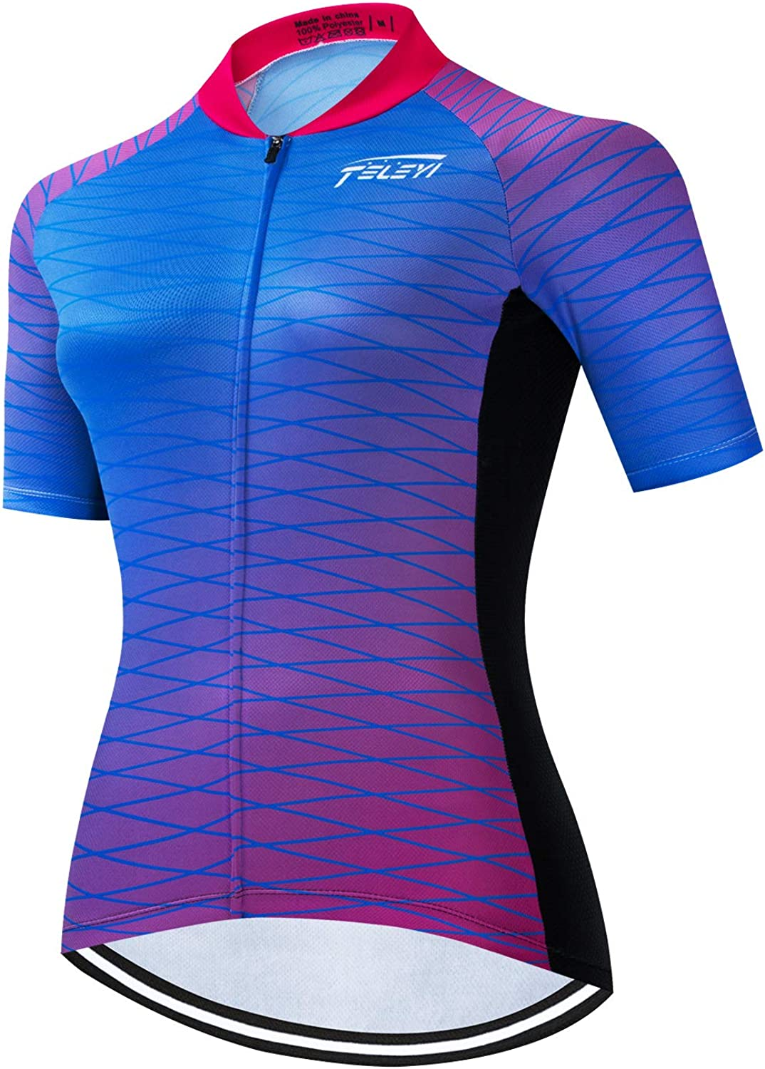 Cycling Jersey Women Bike Short Sleeve MTB Ladies Bicycle Shirts Pro Cycling Tops Breathable,Quick Dry