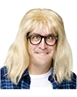 SNL Garth Algar Wig and Glasses Accessory Kit Size One-size