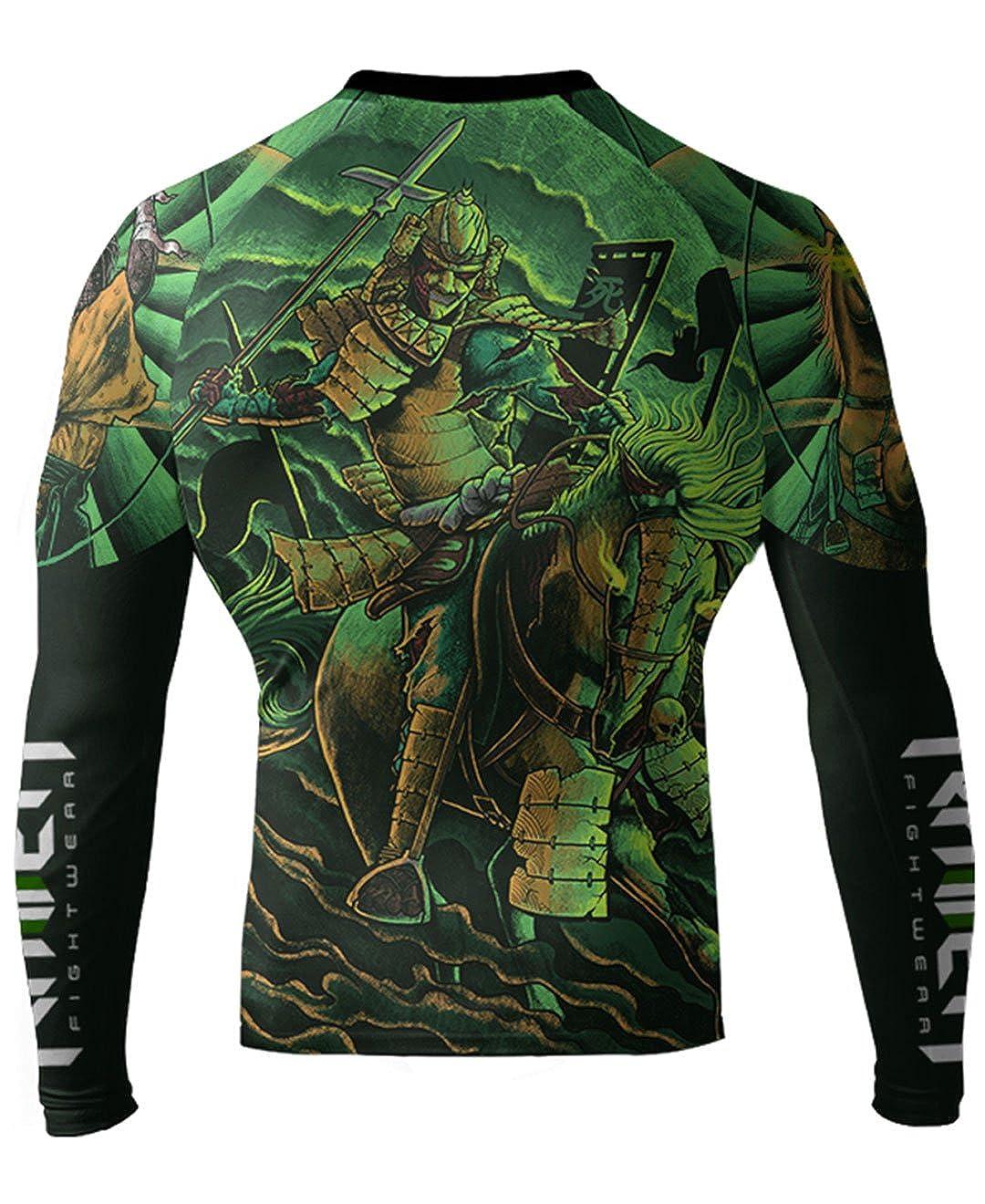 Raven Fightwear Mens Horsemen of The Apocalypse Death Samurai Rash Guard RF106-0001