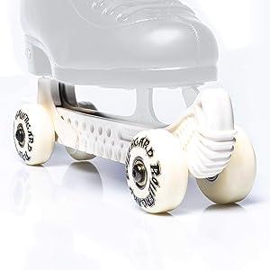 Rollergard ROC-N Figure Skate Rolling Guard, White, Model:ROC376WH