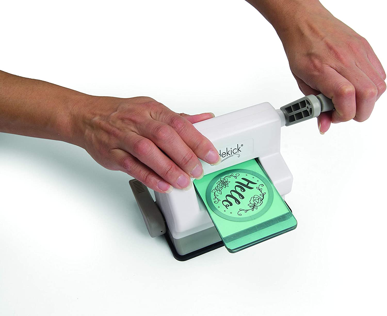 Sizzix Sidekick Die Cutting & Embossing Machine - A super cheap manual machine that comes with a lot of extras