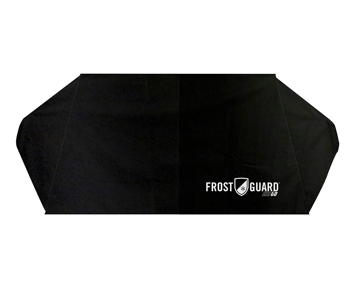52832 Ice and Frost FrostGuard Go Fits Most Cars and Mid-Size SUVs Protects Essential Viewing Area from Snow Portable Winter Windshield Cover with Security Panels and Travel Storage Pouch