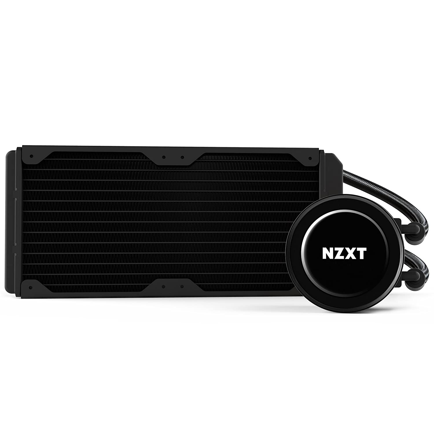 NZXT RL-KRX52-01 240 mm Kraken Series All-in-One Liquid Cooler - Black:  Amazon.co.uk: Computers & Accessories