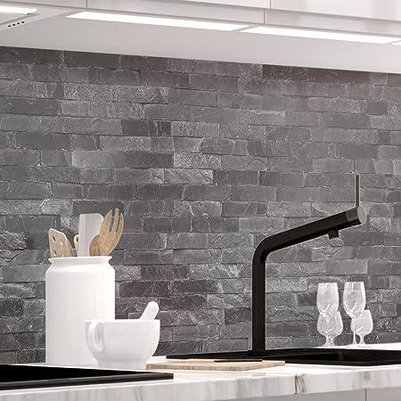 Stickerprofis Kuchenruckwand Selbstklebend Pro Steinwand Luxury 60 X