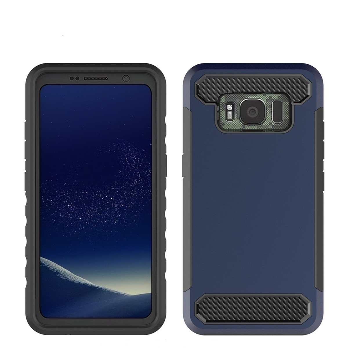 Amazon.com: Scheam Samsung Galaxy S8 Active Case, Thin Slim ...