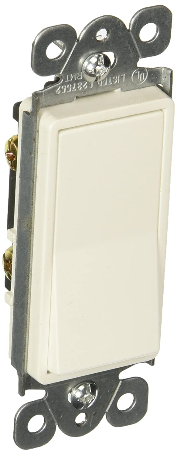 White Morris Products Single Pole 120V//277V 15 Amp Current Morris 82286 Decorative Switch