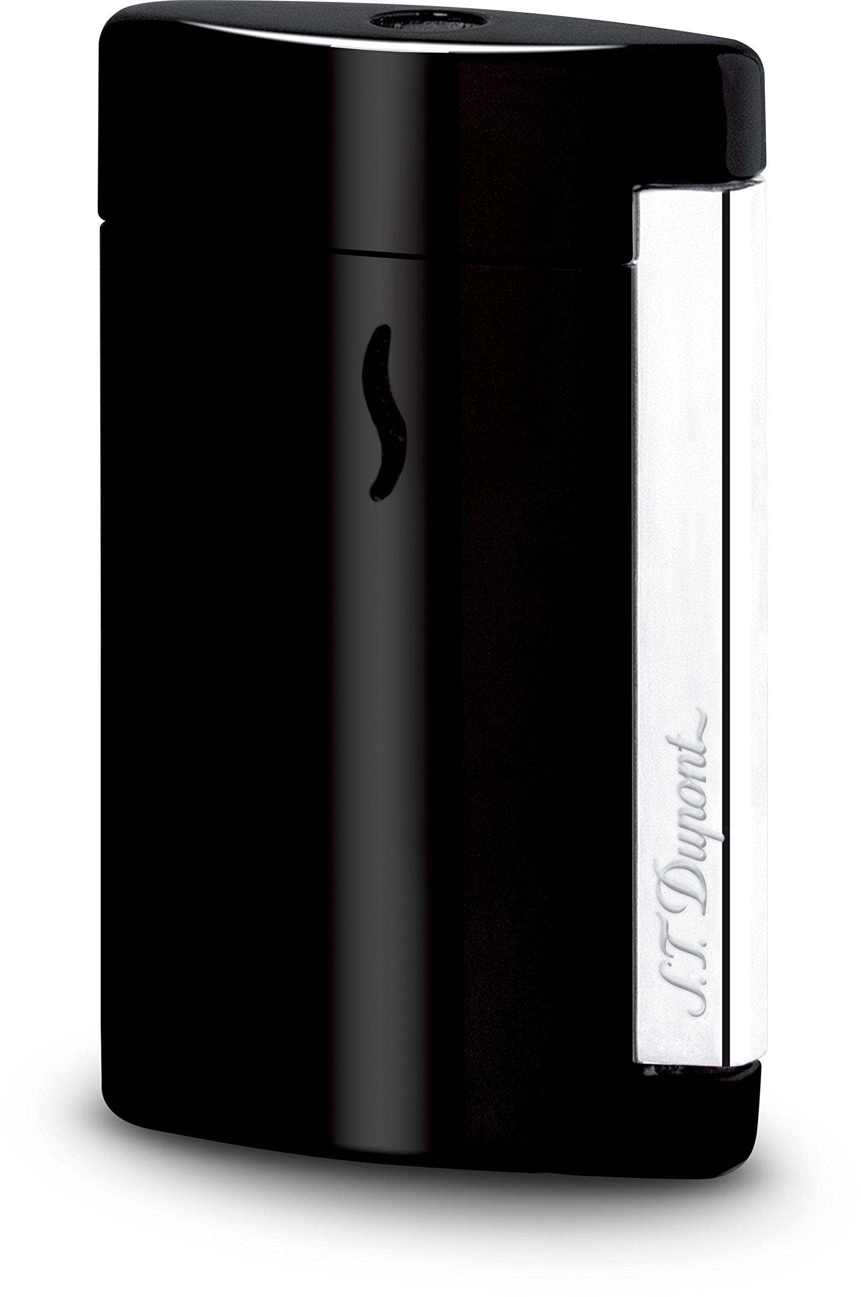 S.T. Dupont Minijet 2 Shiny Black Torch Flame Jet Lighter / 010501