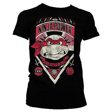 TMNT Ninja Power Official Women T-Shirt: Amazon.es: Ropa y ...