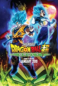 Dragon Ball Super Broly The Movie Glossy Finish Movie Poster -12 x 18 inch (30cmx46cm) Frameless Gift