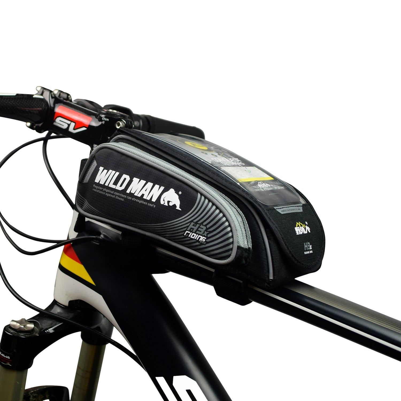 Wildman Bike Bicycle Handlebar Frame Pannier Front