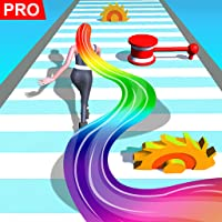 Hair Runner Challenge game 3d to make your hair long by collecting all hairs in this original girls hair games 2021 fat…