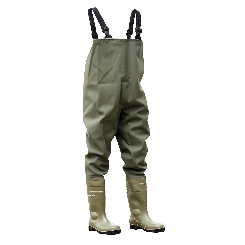 Dunlop Chest Wader 142 VP PT - Stivali di Sicurezza - Uomo(Unisex adulti)