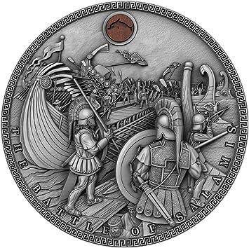 Power Coin Battle of SALAMIS Sea Battles Chinos 2 Oz Moneda ...