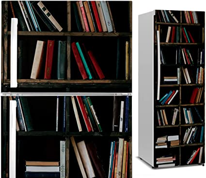 DON LETRA Vinilo para Nevera | Estantería de Libros | Pegatina Impermeable | VIN04041 60 x 185 cm