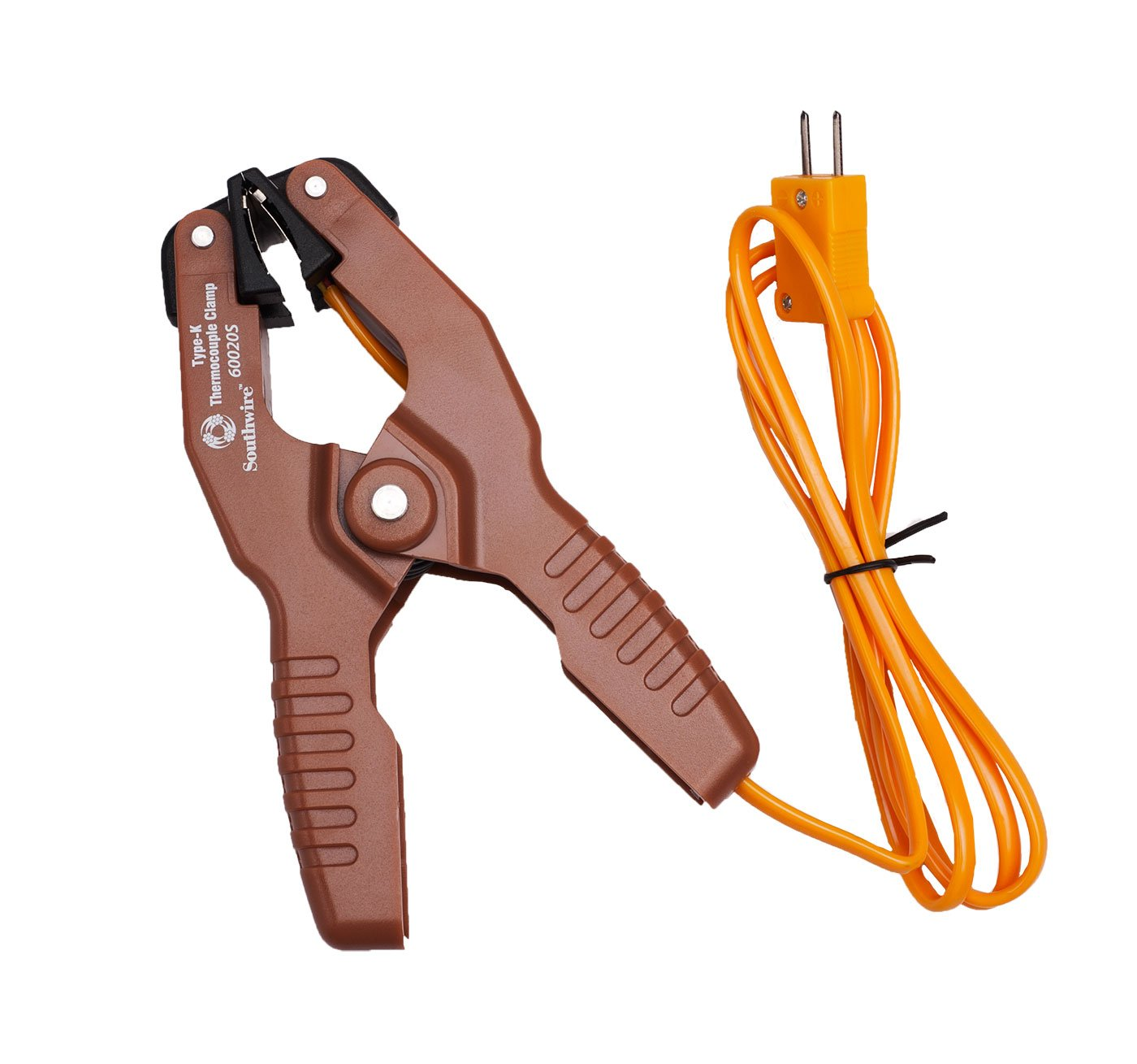 Southwire Tools & Equipment 60020S Type-K Temperature Clamp Probe ...