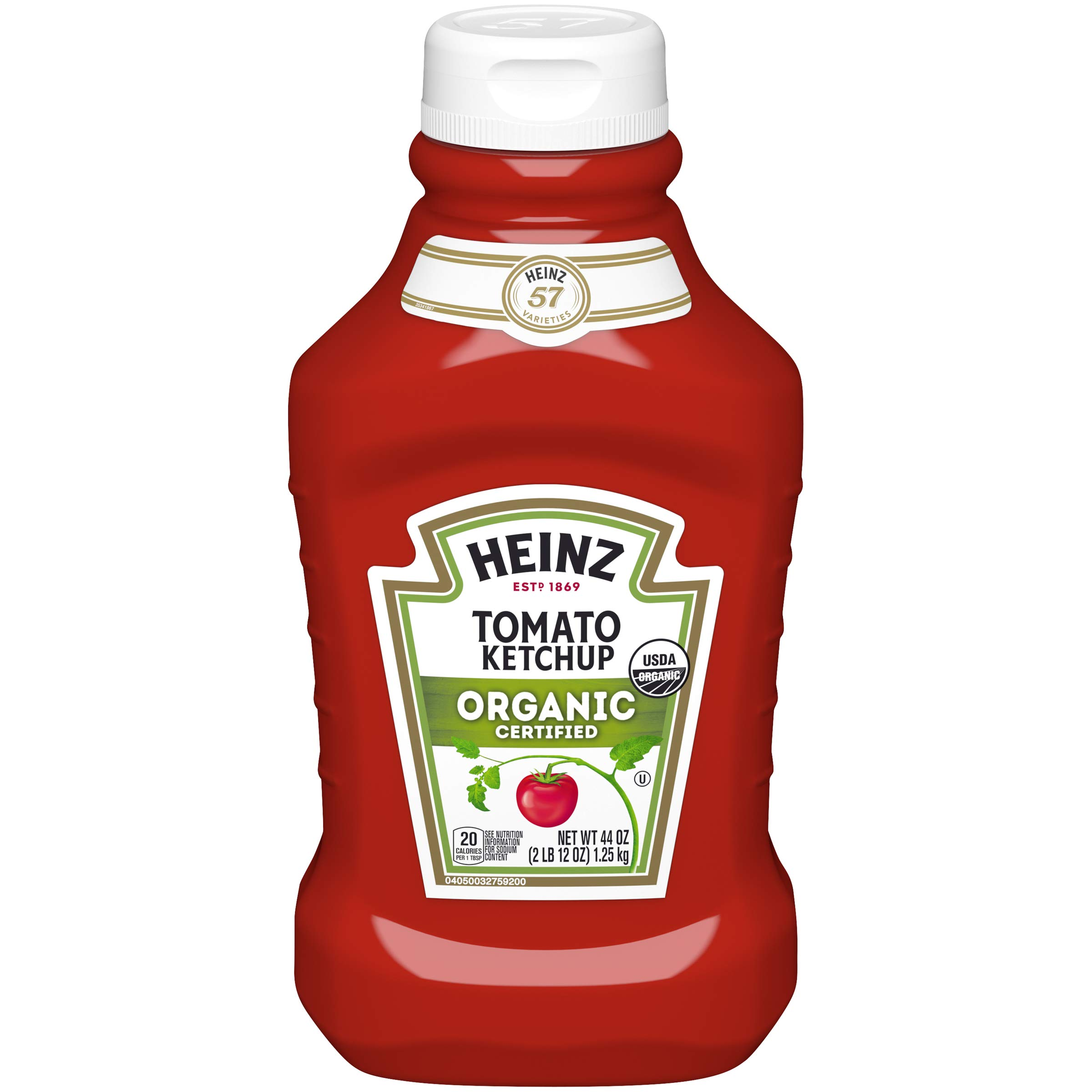 Heinz Organic Tomato Ketchup (44 oz Bottles, Pack of 6) by Heinz
