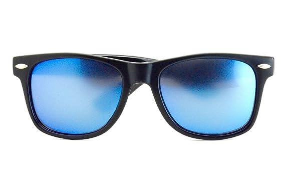 0a0abb4513 New Colored Wayfarer Polarized Blue Sunglasses - Classic Design for Men    Women