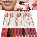 ShungHo Professional Waterproof Lip Liner Penci Long Lasting Lipliner Makeup Tools Cosmetic Set