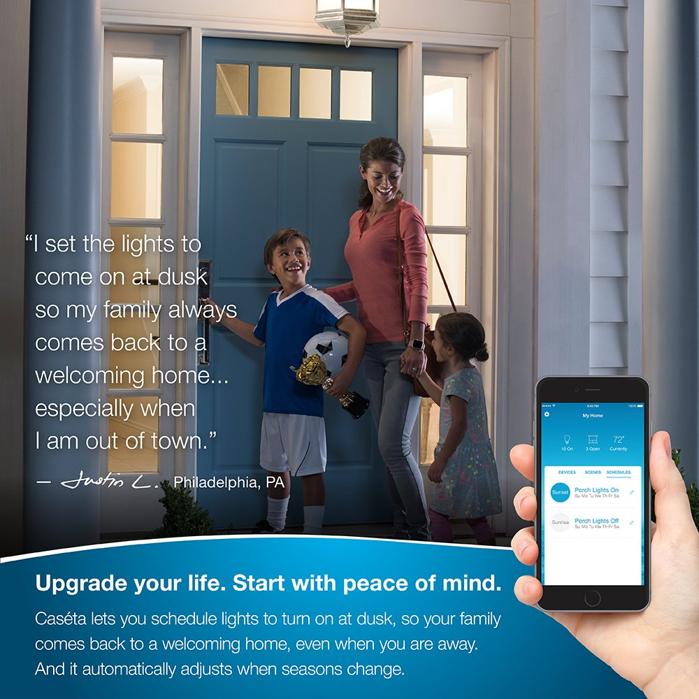 Lutron P-BDG-PKG2W Caseta Wireless Smart Lighting In-Wall Dimmer Kit, HomeKit-enabled by Lutron Electronics Company, Inc.: Amazon.es: Bricolaje y ...
