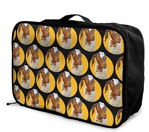 YueLJB Polar Bear Pattern Lightweight Large Capacity Portable Luggage Bag Travel Duffel Bag Storage Carry Luggage Duffle Tote Bag