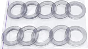 Grommet Eyelet Ring 1 inch silicone washer gaskets 1 inch silicone washer seals (10 pieces in pack)