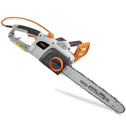 """VonHaus 2200W Chainsaw With 16"""" Oregon Chain – Great For Carpentry &  Gardening"""