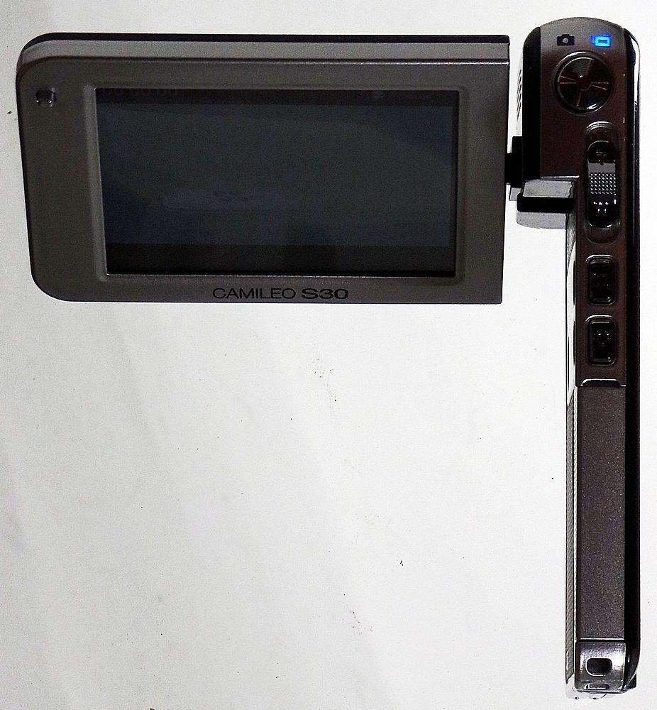 Defective: 1080p SDXC Camcorder Toshiba Camileo S30: Amazon.co.uk: Camera &  Photo