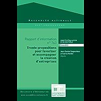 Rapport d'information sur l'évaluation des dispositifs publics d'aide à la création d'entreprises