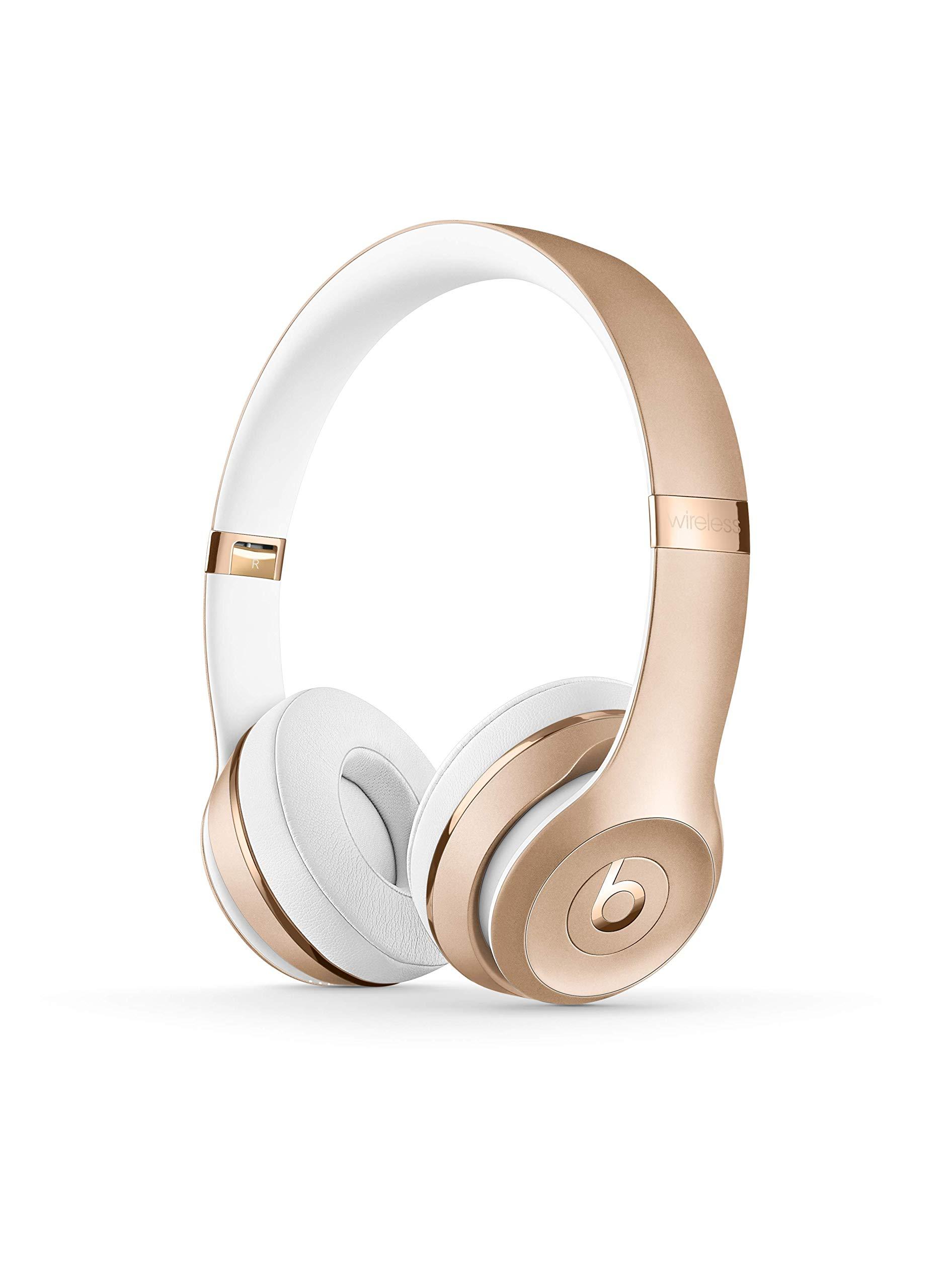 Beats Solo3 Wireless On-Ear Headphones - Gold by Beats