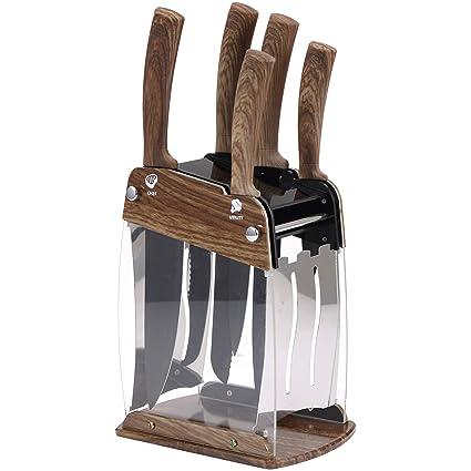 Compra San Ignacio Set 6pc cuchillos MONCAYO acero ...