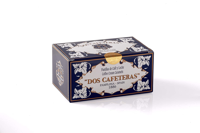 Dos Cafeteras, Caramelo masticable (Café, Leche) - 220 gr.: Amazon ...