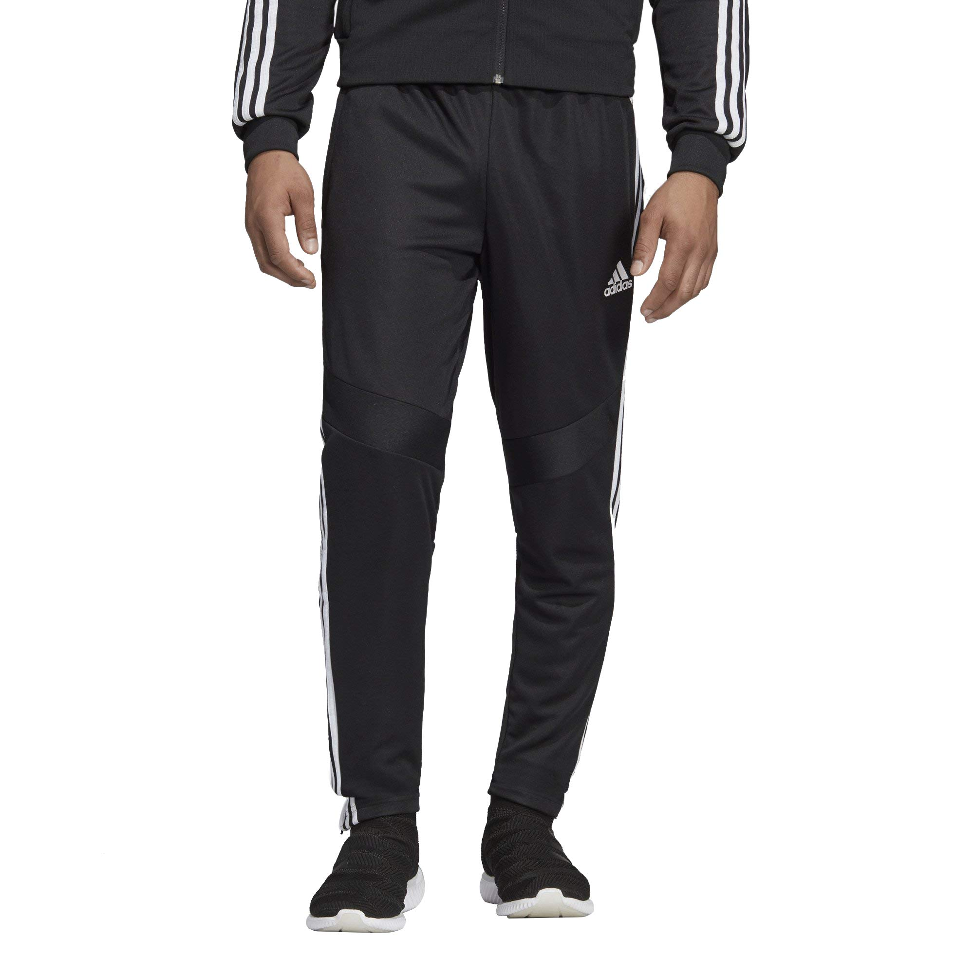 adidas Men's Tiro '19 Pants, Black/White, X-Small