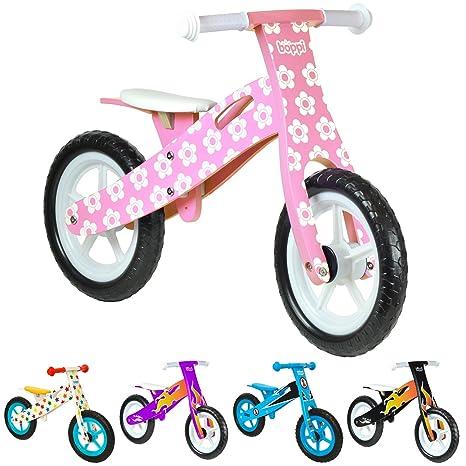 boppi® Bici sin Pedales de Madera para niños DE 2-5 años - Rosa