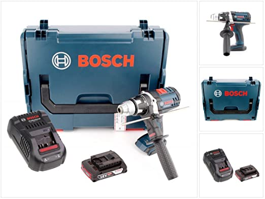 Bosch GSR 18 VE-2-LI Professional batería taladro en L-Boxx ...