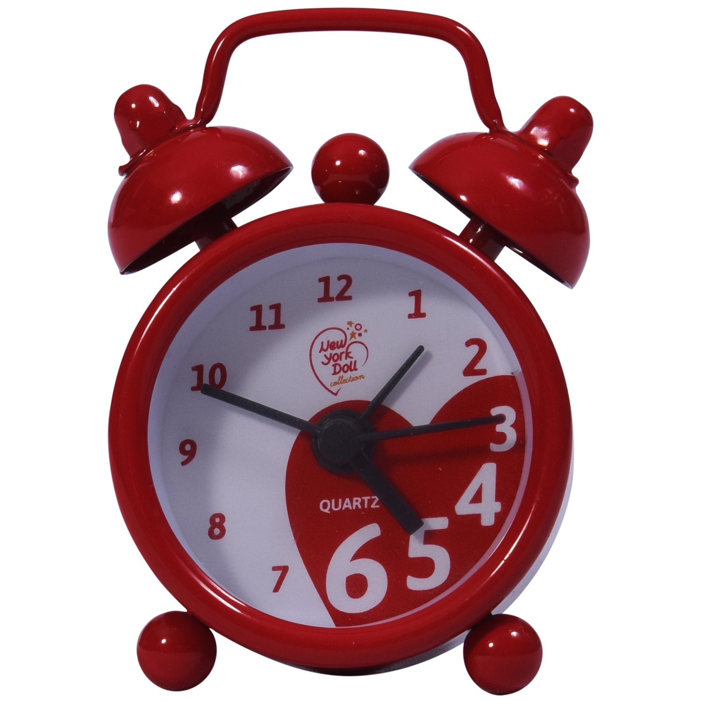 18 Doll Alarm Clock - Red - 46cm Doll Accessories - Dollhouse Accessories - Fits 46cm Dolls  レッド B01KIPGL90