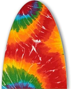 ClarUSA Premium Ironing Board Replacement Cover Fits Rowenta Model IB6300 Tye Dye Print