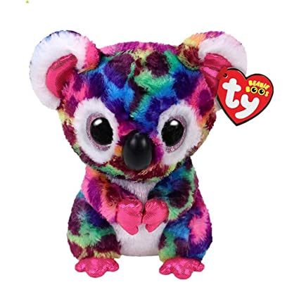 JEWH Ty Beanie Boos Collection - Big Eyes Plush Toys Stuffed Animals Soft Toys Buddly Toys