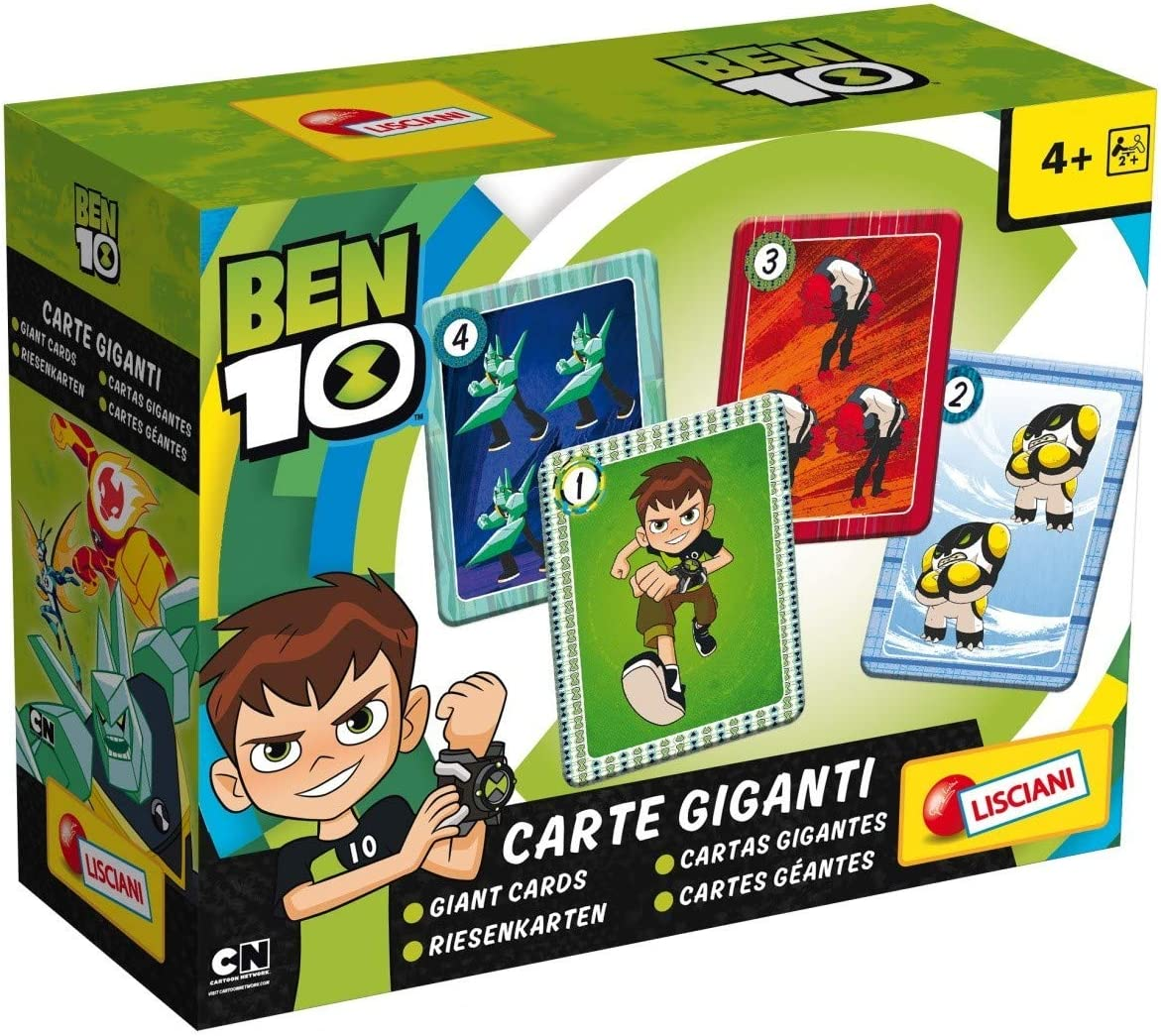 Multi Colour One Size Disney 65981 Ben 10 Giant Cards