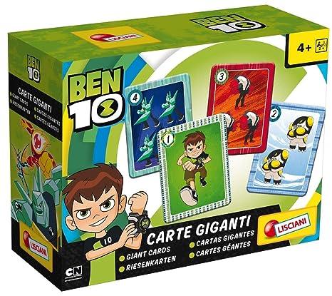 Amazon.com: Disney 65981 Ben 10 Giant Cards, Multi Colour ...