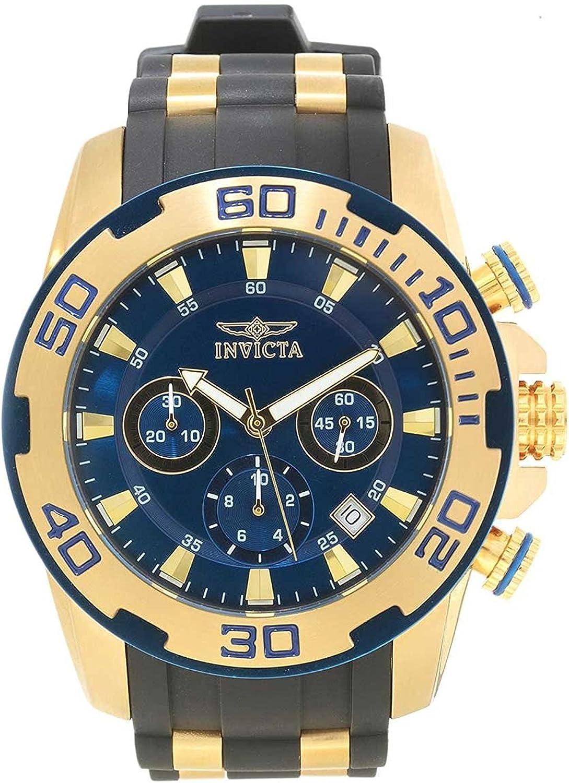 [インビクタ] Invicta 腕時計 Pro Diver Chronograph Blue Dial Men's Watch メンズ 22341 [並行輸入品]