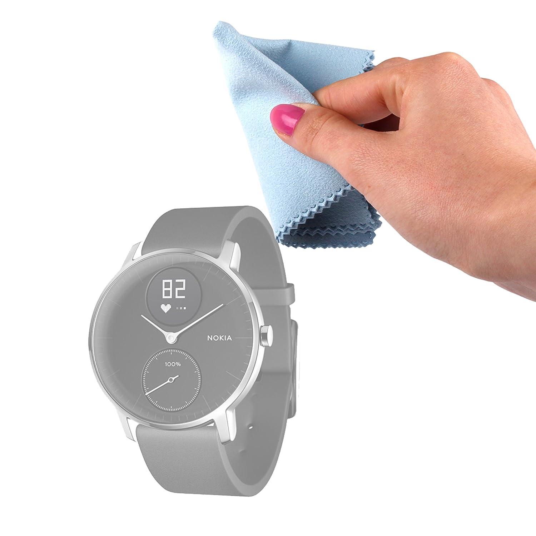 DURAGADGET Gamuza Limpiadora para Nokia Steel/Huawei Watch 2 ...