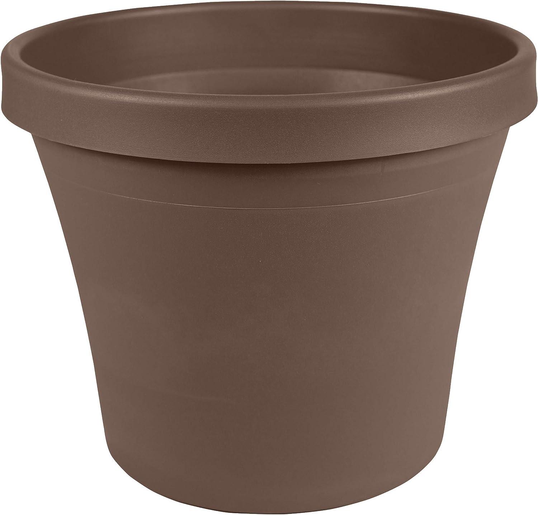 Bloem Terra Pot Planter, 24 , Chocolate TR2445